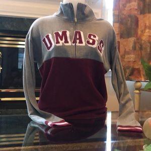 Victoria'sSecret PINK UMass quarter-zip sweatshirt